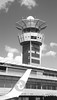 Orly's Control tower (maosor99) Tags: airplane aricraft airlines airport airbus transavia baw bluesky blackandwhite bw tower control towercontrol