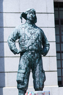 Statue in honor of kamikaze pilots