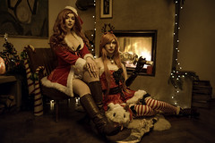 Miss Fortune and Katarina (azproduction) Tags: azproductioncosplayphotography animecosplay canon cosplayphotography gamecosplay germancosplayphotography godox phottix sigma cosplay girl leagueoflegends lol missfortune katarina