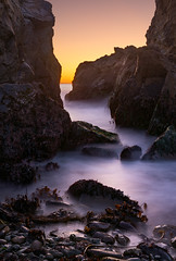 Pfeiffer Beach Slot (Anish Patel Photo) Tags: pfeiffer beach sunset big sur california seascape