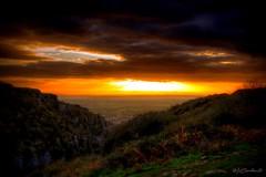 Heaven's Gate (HiJinKs Media...) Tags: life light sun clouds fields steps rocks trees seasons autumn fall dark shadows dusk sky grass sunset tramonto mist colours colors colores colori