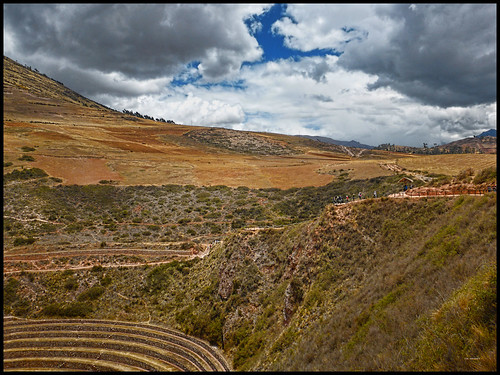 Moray, The Sacred Valley, Peru - 2017.