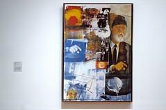 Rauschenberg Painting at the SFMOMA (Studio d'Xavier) Tags: werehere metarte robertrauschenberg retroactiveii art 365 december152017 349365 painting screenprint