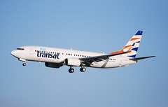 C-GTQY B737 8Q8 Air Transat (corrydave) Tags: 30724 b737 b737800 airtransat shannon cgtqy