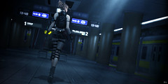 """""""Tokyo Dungeon"""" - Mopire Subway-Station is now Open (Eripom^^) Tags: secondlife second life 2nd 2ndlife sl virtual world japanese country landscape sea subway station train blur road sign"""