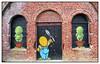 Le Gouzou (diaph76) Tags: france extérieur normandie seinemaritime lehavre mur wall briques bricks artderue streetart