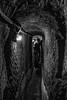 claustrophobia (Angelo Petrozza) Tags: claustrophobia blackandwhite biancoenero bw napoli sotterranea naples underground tunnel lamp light luce lampada cava pentaxk70 1855mm angelopetrozza