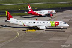 TAP Express - E190 - CS-TTY (2) (amluhfivegolf) Tags: amluh5g amluhfivegolf dus düsseldorfairport eddl flughafendüsseldorf avgeek aviation plane