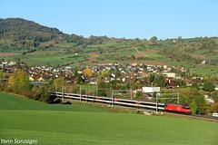 Rosée des prés (Lion de Belfort) Tags: chemin de fer cff sbb ffs re 460 frick argovie suisse ic ir inter regio city