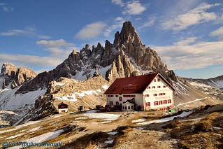 Rifugio Locatelli e Monte Paterno (Dolomiti di Sesto).