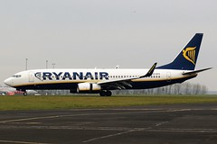 EI-EFO RYANAIR B737 NEWCASTLE (toowoomba surfer) Tags: airline airliner aviation aircraft jet aeroplane ncl egnt