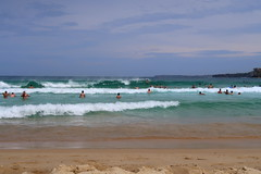Bondi Beach waves (Bex.Walton) Tags: travel australia sydney bondibeach bondi beach sunbathing waves surfers surfing
