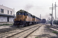 MILW 245 at Plymouth (ac1756) Tags: milwaukeeroad milw milwaukee emd gp40 2050 245 plymouth wisconsin