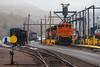 The Roundhouse (jameshouse473) Tags: bnsf mrl montana rail link missoula sd70ace fog morning