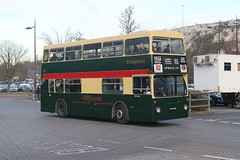 THX 646S London Buses DMS 2646 Leyland Fleetline Bluewater David Heath (focus- transport) Tags: ensignbus vintage bus running day 2017 london buses transport lte aec routemaster regal regent mcw metropolitan leyland fleetline titan pd2 green line