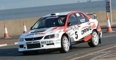 Mitsubishi Evo 9 - Evans (rallysprott) Tags: sprott wdcc rallysprott 2017 promenade stages rally new brighton wirral wallasey motor club sport car rallying mitsubishi evo 9 evans