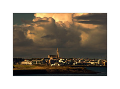 Reykjavik (williamwalton001) Tags: iceland buildings church clouds colourimage pentaxart sky daarklands