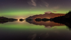 derwent water aurora (explored) (akh1981) Tags: aurora landscape lakedistrict lake longexposure derwentwater wideangle water walking outdoors mountains nikon nisi night manfrotto