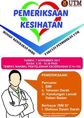 Pemeriksaan Kesihatan Sempena Minggu Kesedaran OSHE FP
