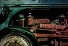 the old ford tractor (johngpt) Tags: fujinonxf55200mmf3548rlmois johnslensinas1982filmtriplecrownflashpostprocessed engine fujifilmxt1 tire tractor abqbotanicgardens hipstamatic sliderssunday hss