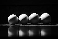 Ovoid Production (luenreta) Tags: eggs ovoid production 7dwf bw monocromático luz sombra sun light