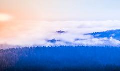 Views from Srnjak, Logatec (rlubej) Tags: notranjska hillsmountains fog lights