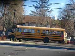 First Student #218236 (ThoseGuys119) Tags: firststudentinc kingstonny schoolbus icce rain rainyday laidlaw 3800