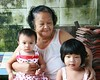 grandma with the little ones (the foreign photographer - ฝรั่งถ่) Tags: grandma baby toddler khlong thanon portraits bangkhen bangkok thailand canon