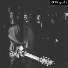 @grgrfry from #THOT (Belgium  ) playing live in the crowd featuring @Custom77 Roxy Hollowbody guitar. #Repost ・・・ Making new friends or ennemies while playing in the crowd while our last show in Liège .  @snappp.pics . . . . . . . #Offsetguitar #Offsetgui (Custom77) Tags: guitars guitares electric guitar