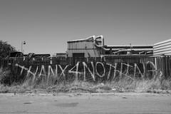 thanx4nothing (eb78) Tags: ca california bw blackandwhite monochrome greyscale grayscale eastbay berkeley graffiti