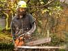 gardening in highland Perthshire!-2 (grahamrobb888) Tags: nikon nikond800 nikkor nikkor20mmf18 homegarden garden trees treefelling perthshire tighnabeithe home woods birnamwood birnam industry noise