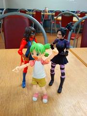 SuperAwesomeMegaTeam!!! (zaramcaspurren) Tags: marvel marvelcomics marvellegends hasbro msmarvel sistergrimm kamalakhan nicominoru yotsuba revoltech
