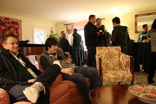 Pregame at Cowles House - MSU vs. Maryland, November 2017