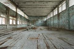 School 3 (scrappy nw) Tags: abandoned scrappynw scrappy school derelict decay forgotten canon canon750d chernobyl chernobyldisaster pripyat urbex ue urbanexploration urbanexploring ukraine leaning class classroom