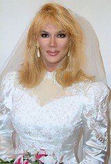 The Ultimate Bride (xgirltv1000) Tags: tgirl trans transgender transwoman transisbeautiful girlslikeus crossdress transformation makeover bride bridal mtf michellemonroe