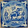poser des lapins (3) (canecrabe) Tags: rabbit lapin conejo bleu talavera faïence décor alcazar séville andalousie