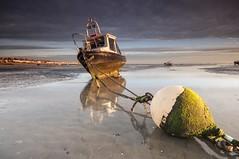 Essex Thorpe Bay (daveknight1946) Tags: essex southend thorpebay buoy rope chain mud greatphotographers sundaylights