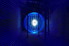 Energy 355 (Sven Gérard (lichtkunstfoto.de)) Tags: lightartphotography lightart lightpainting sooc lichtkunst lichtmalerei light lights orb blue laser