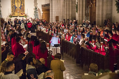 Annual Lessons and Carols 2017 (trincoll) Tags: trinitycollege hartford connecticut chapel campus children faculty facultystudentinteraction students studentlife president joannebergersweeney choir singing community alisonread lessonsandcarols