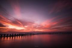 Arde (Leticia Lorenzo S Photography) Tags: canaryisland grancanaria agaete clouds landscape sea seascape sky sunset