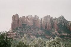 Red Cliffs (Caroline Kutchka Folger) Tags: sedonaarizona southwest usa rock roadtripusa filmtravel analog 35mm film lomography roadtrip travel redrocks hiking desert arizona sedona