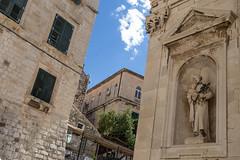 Dubrovnik (bruno vanbesien) Tags: croatia dubrovnik hrvatska statue hr