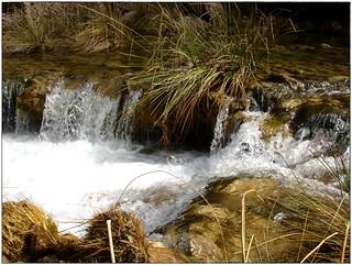 Caída de aguas limpias ..