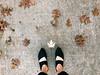 318/365 (moke076) Tags: 2017 365 project 365project project365 oneaday photoaday vsco vscocam iphone cell cellphone mobile walk walking me self selfie portrait feet cute handmade bespoke shoes autumn fall leaves browndead dying pavement color sevillasmith chiara maryjanes dress cabbagetown atlanta ga sidewalk fromwhereistand maple oak leaf