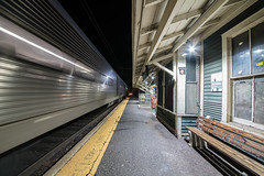 The Home Stretch (Nick Gagliardi) Tags: train trains railroad new jersey transit njt nj morris essex me gladstone branch arrow iii mu emu electric multiple unit peapack station