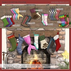 Sway's [Christmas Stocking] | Whimsical (Sway Dench / Sway's) Tags: whimsical stocking christmas gacha virtual vr secondlife mermaid cowboy paw ballerina sways