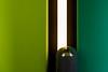 Trashcan (Maerten Prins) Tags: duitsland deutschland germany berlin berlijn green wall light lamp trash trashcan reflection distortion composition line lines