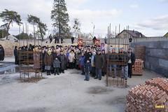 51. Закладка собора в г. Святогорске 01.11.2009
