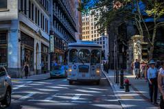 Boston Trolley Bus (Kev Walker ¦ 7 Million Views..Thank You) Tags: americanrevolution architecture boston building canon1855mm canon700d city citycentre digitalart freedomtrail hdr historic massachusetts usa unitedstates