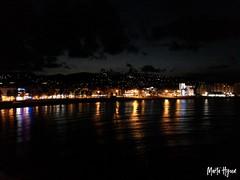 Night in Peñiscola (Marta Hyun) Tags: night beautiful turism turismo peñiscola noche luces castillo agua water ocean sea meer castle beach playa
